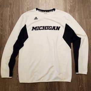 adidas Michigan Crew Neck Sweatshirt